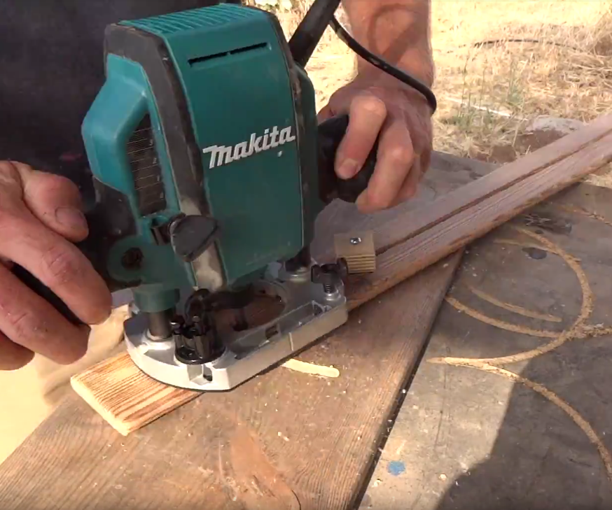 How to Make a Router Circle Jig