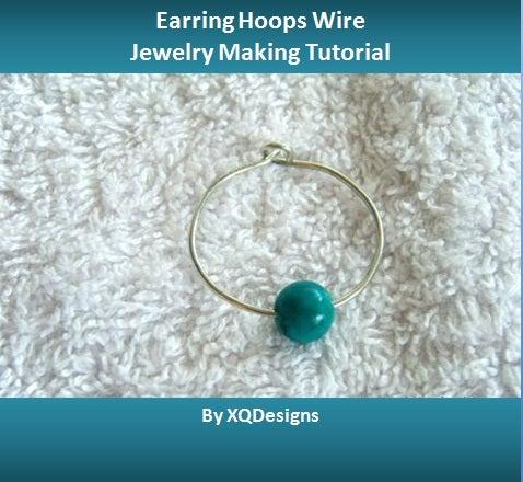 How to Make Earring Hoops in 2 Ways