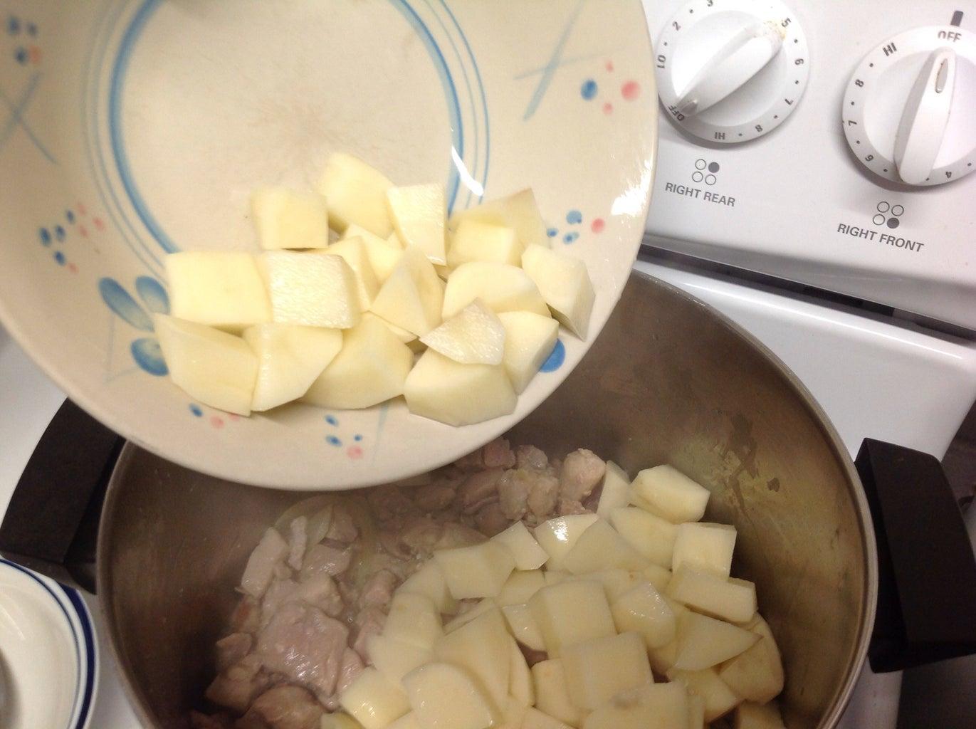 Adding in Vegetables