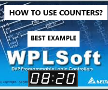 How to Use Counter in Ladder Diagram? | Delta WPLSoft