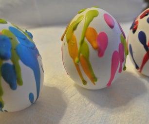 Crayon Wax Easter Eggs