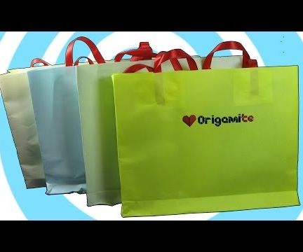 How to Make a Paper Gift Bags With Own Logo