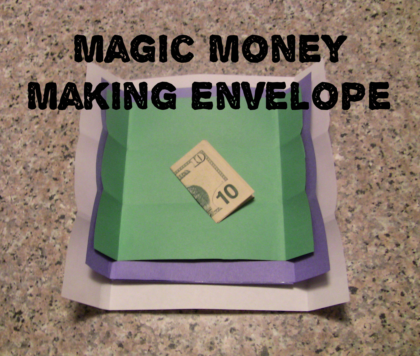 Magic Money Making Envelope