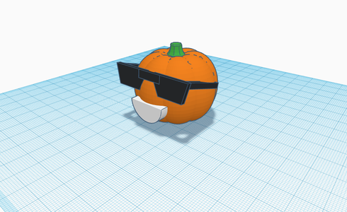 How to Create a Cool Looking Pumpkin in Tinkercad