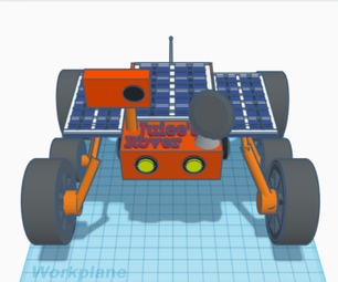 Unique Mars Rover Design (Make It Move)