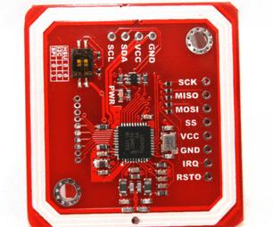 Shield RFID NFC Lector PN5332 Chico