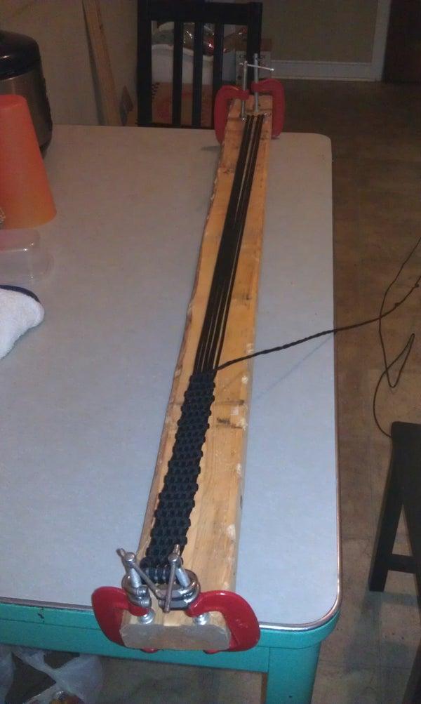 Paracord Belt W/ Carabiner Buckle