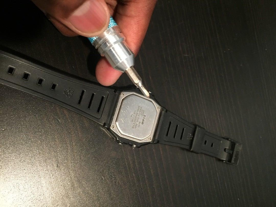Flip the Watch Over.