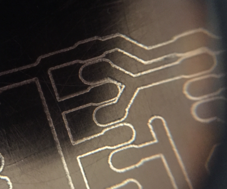 Two Sided PCB Making With a 3D Printer