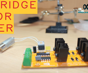 PCB Motor Driver Circuit (H-Bridge)