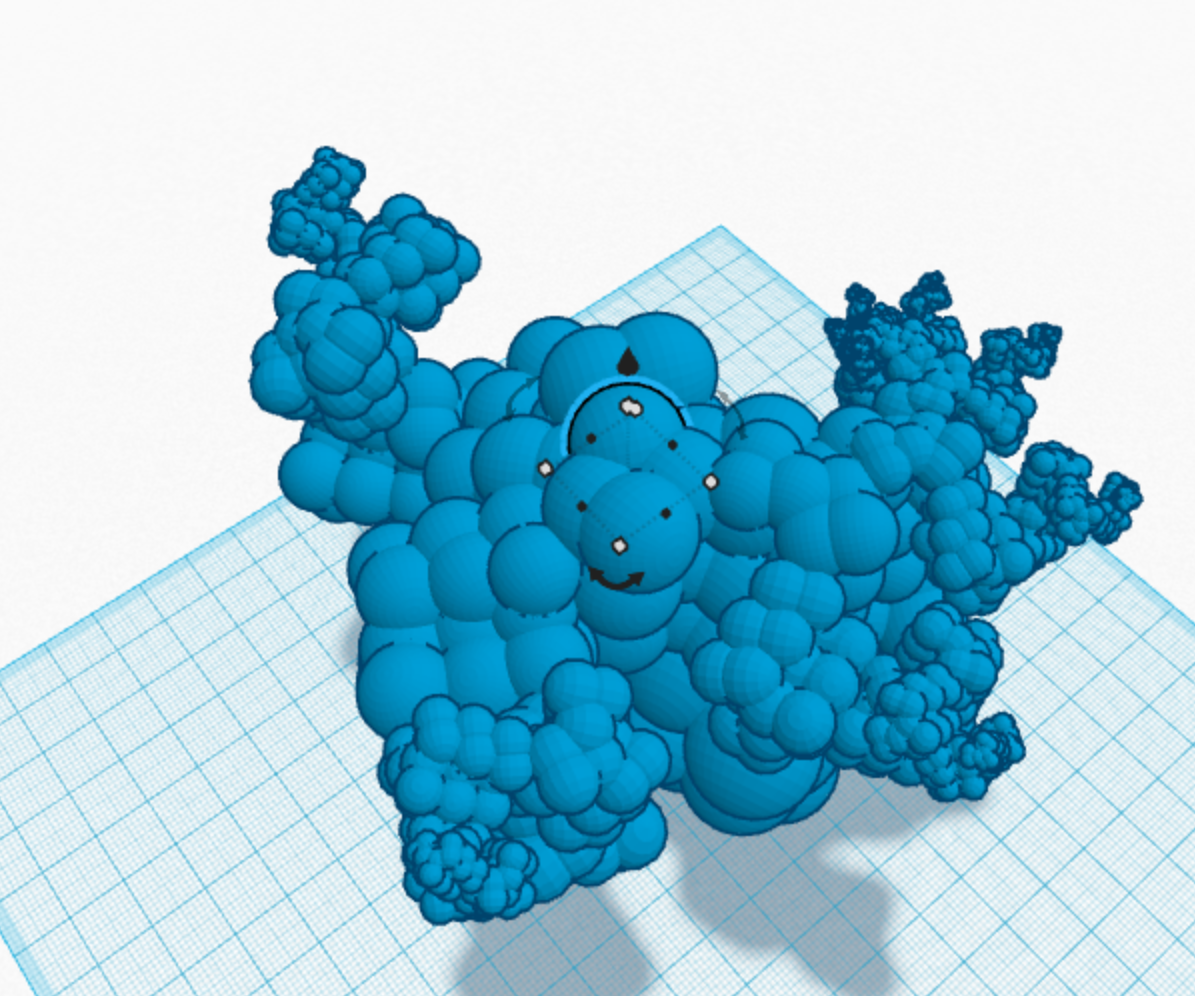 How to do recursive-like modeling in Tinkercad