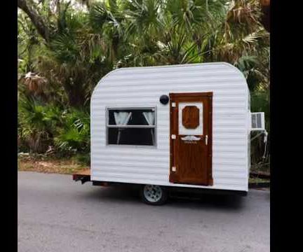Make Your Own Tiny Camper From Scratch