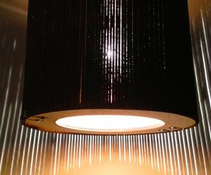 Laser Cut Hanging Lamp