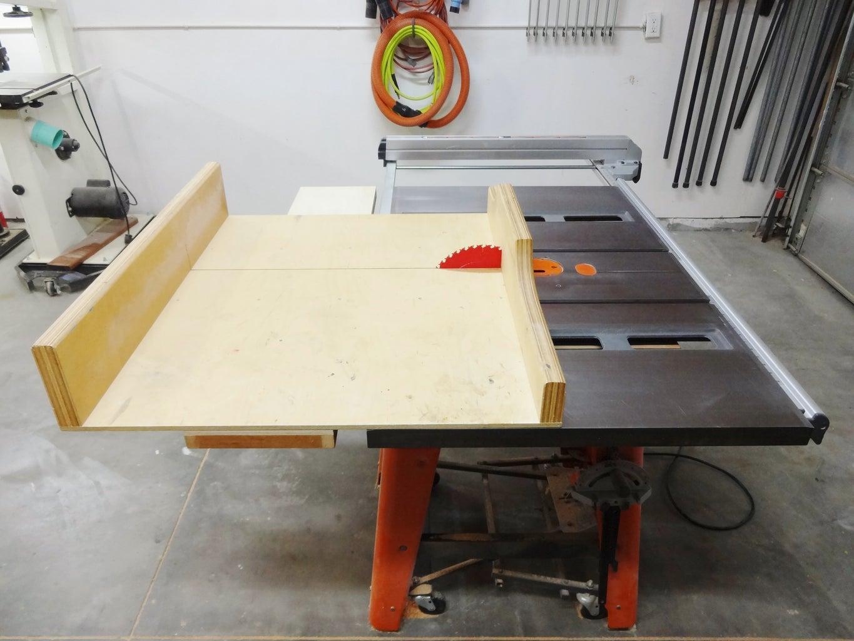 Bonus: Mini Table Saw Extension