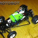 Protobot - Raspberry Pi + Wifi + Xbox + IMU + Picamera