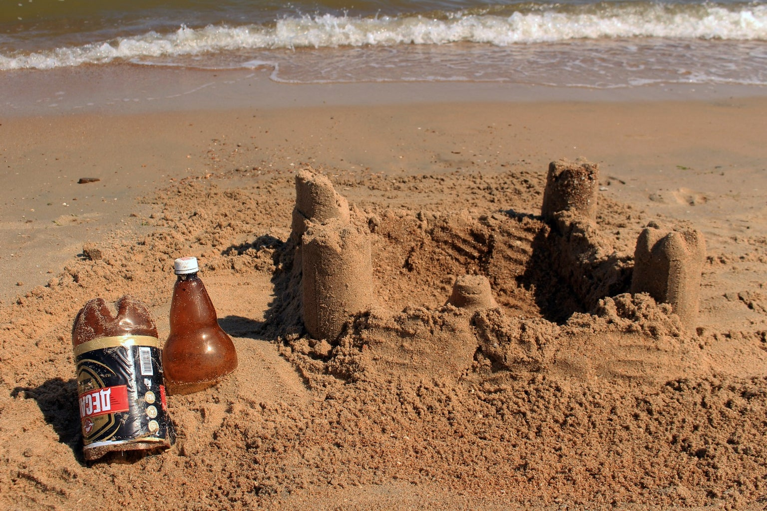 The Sand Castle Forms
