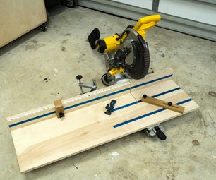 3 IN ONE MITER SAW STATION
