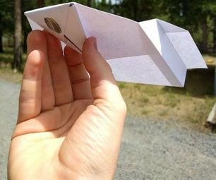 DIY终极纸滑翔机