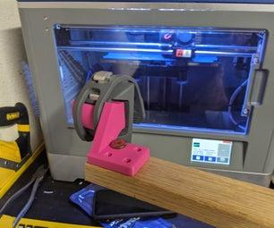 3D打印支架配件,用于NITE IZE Hakenband通用智能手机安装