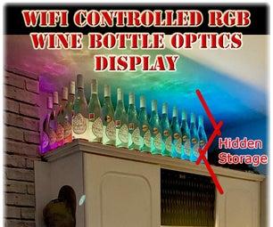 易于WiFi控制的RGB酒瓶光学显示屏