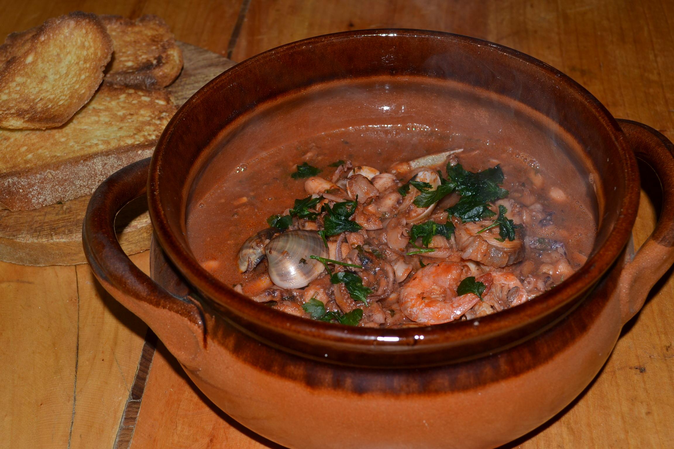 ♨ BOUILLABAISSE (southern france fish soup) ♨