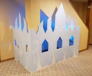 Under-the-Stairs Elsa Ice Castle