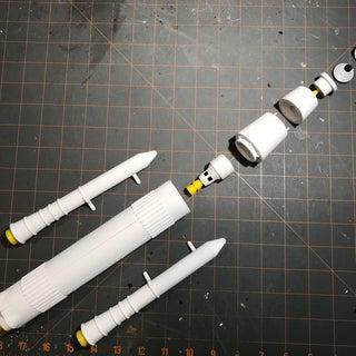 3D Printed Interplanetary Rocket