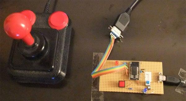 C64 USB Joystick Adapter