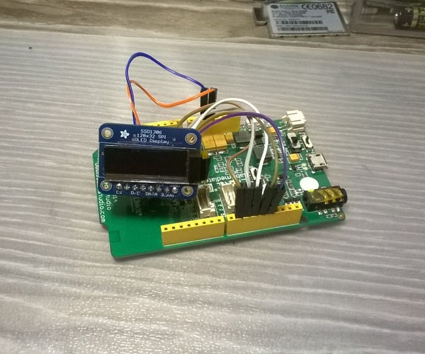 OLED Displays and LinkIt ONE Board