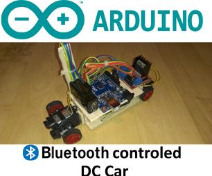 Arduino Bluetooth Controled RC Car