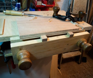 Tabletop Bench and Moxon Vice