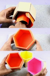 Let's Paste Color Sheets Insed the Box!