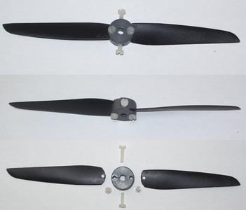 Second Life of Broken Propeller for Rc Model Planes
