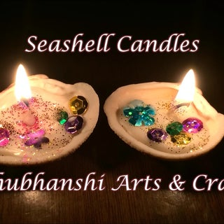 DIY Sea Shell Candles
