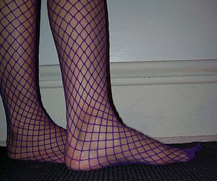 How to Repair Your Fishnet Stockings.