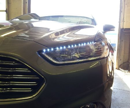 Eyebrow Running Light DIY Project for My Ford Fusion Hybrid