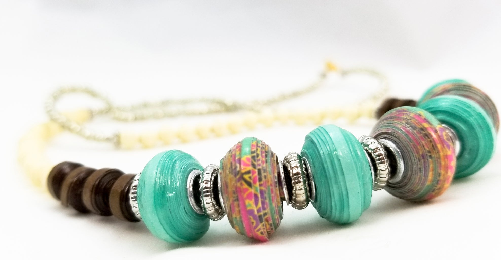 How to Make a Euro Style Paper Bead
