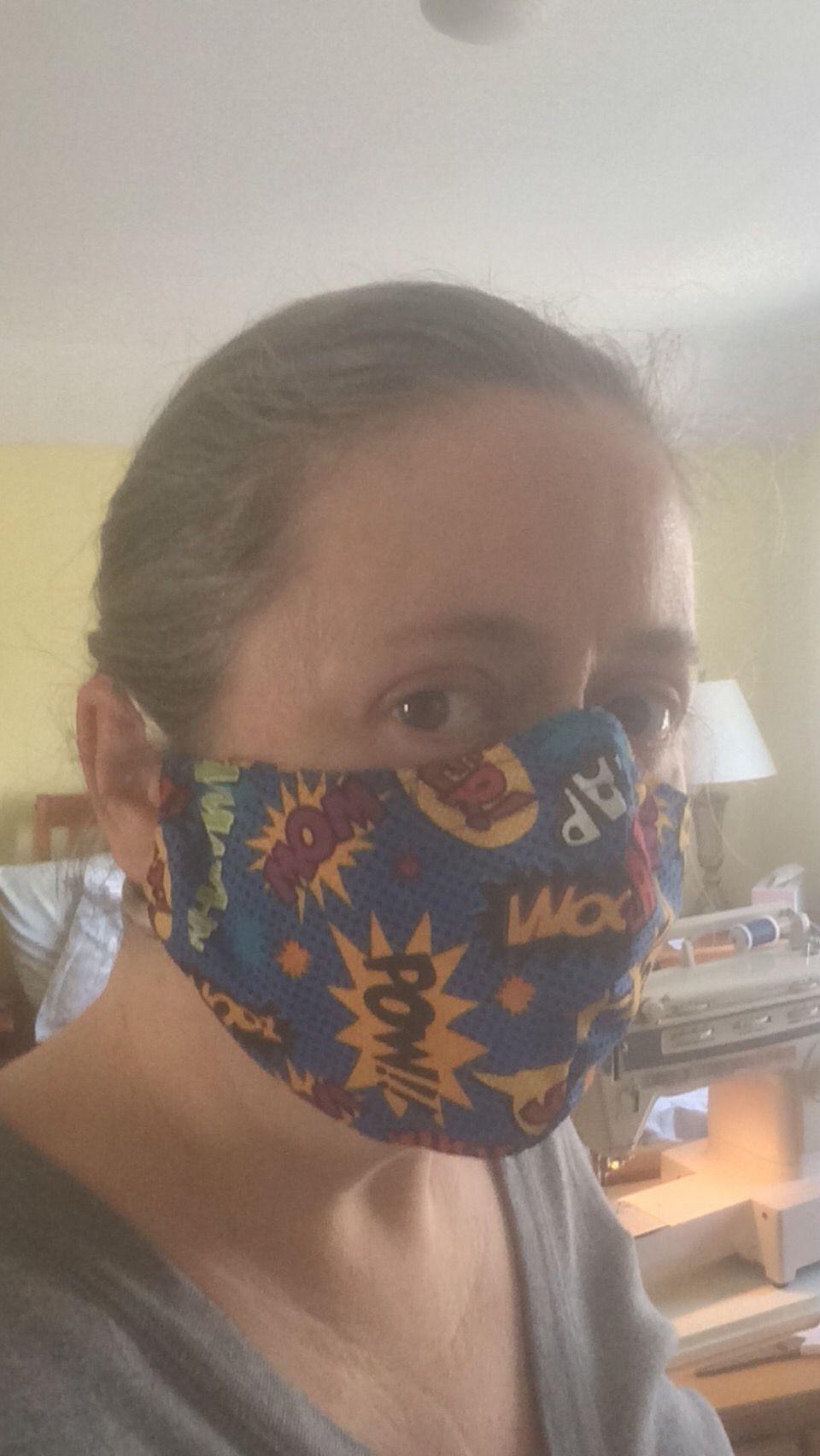 DIY Cloth Face Mask