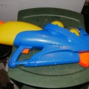how to make a bladder system for a water gun