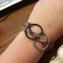 Repurposed Infinity Bracelet