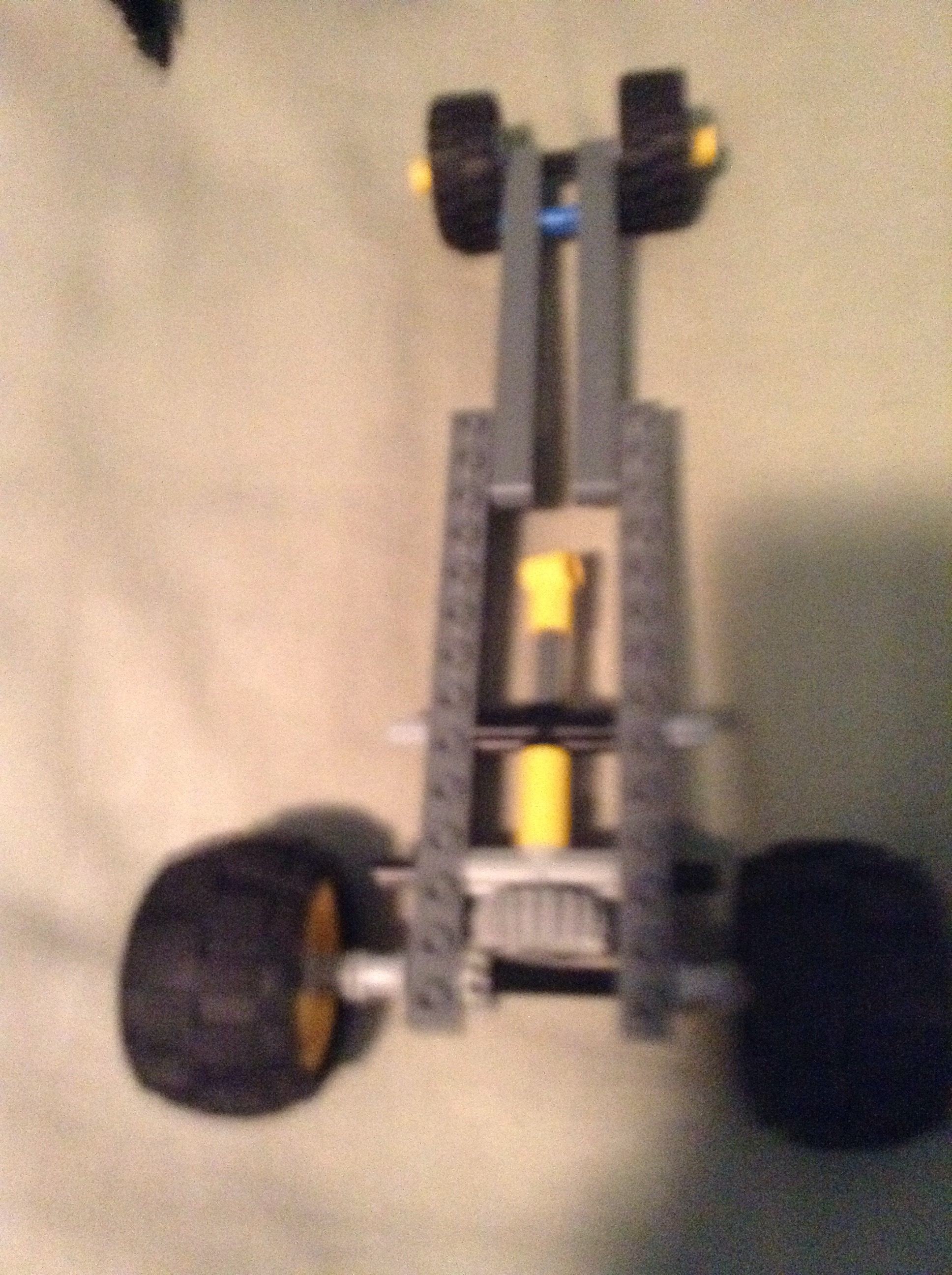 Rubberband Powered Lego Car