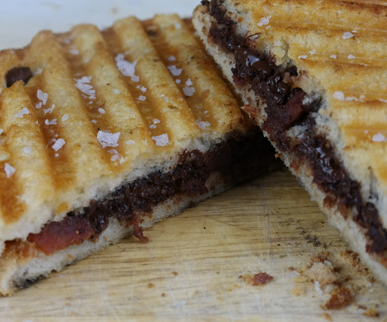 Chocolate Bacon Sandwich
