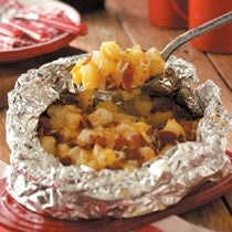 Three-Cheese Potatoes Recipe (adapted From Taste of Home for 2)