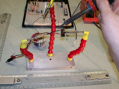 Third Hand++: a Multi-use Helping Hand for Electronics and Other Delicate Work.