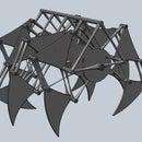 My 123D Jansen Strandbeest Mechanism
