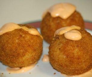 Hot & Spicy Crawfish Balls