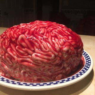 Red Velvet Brain Cake