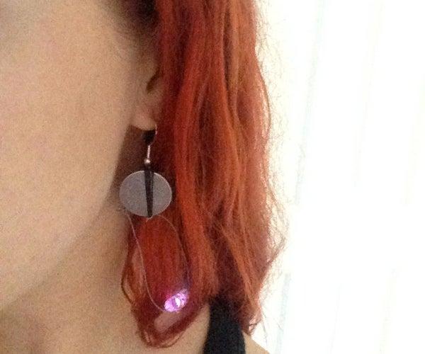 Simple LED Earrings