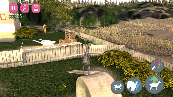How to Fly in Goat Simulator (android)
