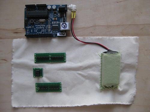 Sewable Arduino Interface